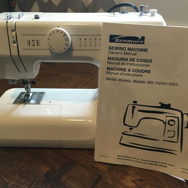 Find More Kenmore Sewing Machine Model 40 For Sale At Up To 40% Off Simple Kenmore Sewing Machine Owner's Manual