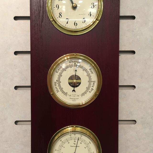 Tempo Barometer Thermometer Hygrometer