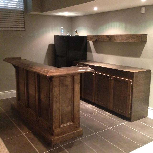 Best Rec Room Bar And Base Cabinet With Shelf for sale in Ajax ...