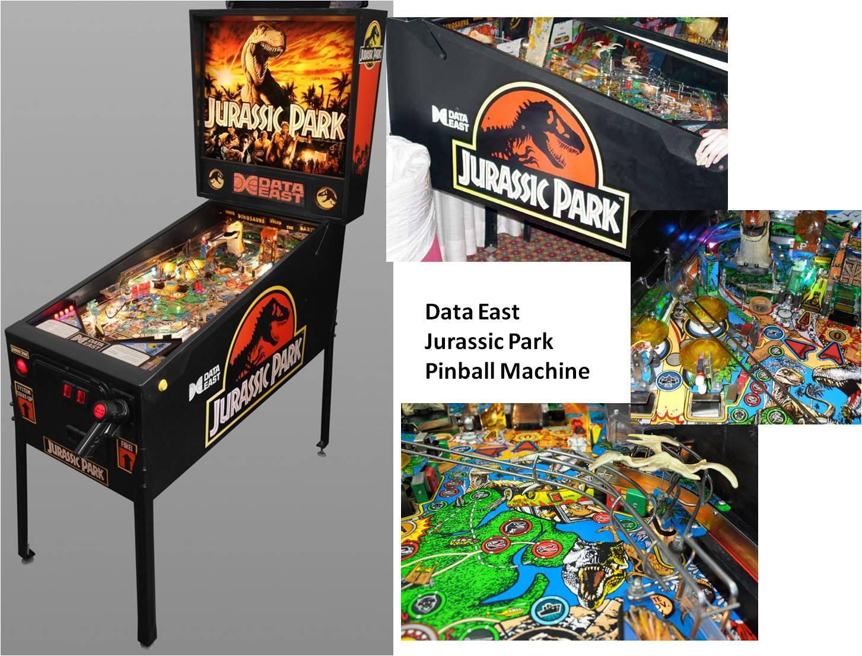 Best Data East Jurassic Park Classic Arcade Pinball ...