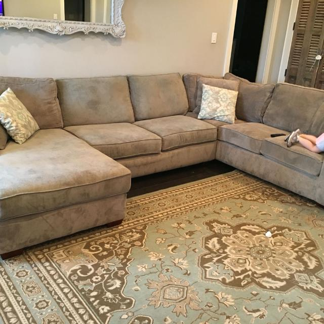 Find More Havertys Piedmont Sectional For Sale At Up To 90