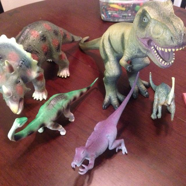 Find More 10 2 Large Dinosaurs Toys R Us Animal Planet For Sale