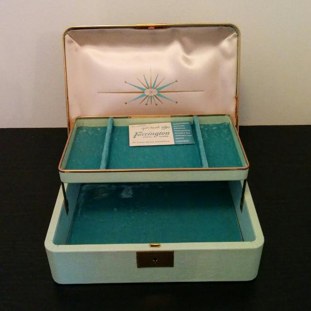 Farrington Jewelry Box Delectable Find More Vintage Farrington 60's Texol Retro Mint Jewelry Box