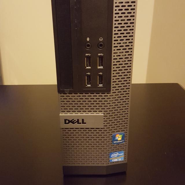 Dell Optiplex Small Frame Core i3 3 4 GHZ 2GB RAM 500GB HD
