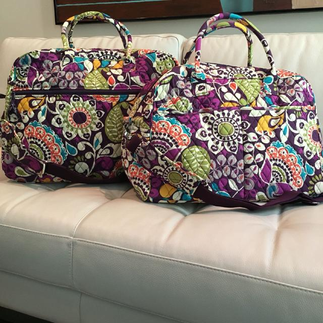 New Vera Bradley Weekender Or Grand Traveler Weekender 60 Grand Traveler 70