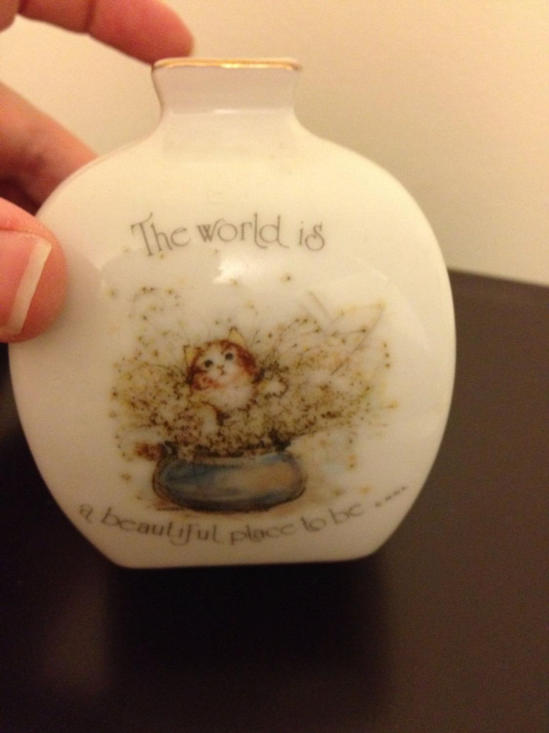 Best holly hobbie porcelain collectible vase vintage for sale in best holly hobbie porcelain collectible vase vintage for sale in oshawa ontario for 2018 reviewsmspy