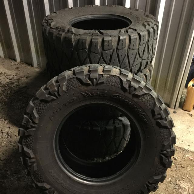 Used Mud Tires For Sale >> Find More 35x12 5x17 Used Nitto Mud Grapplers 200 00 Obo For Sale