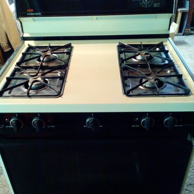 Find more Free Working Tappan Gas Range  Almond,timer,clock And