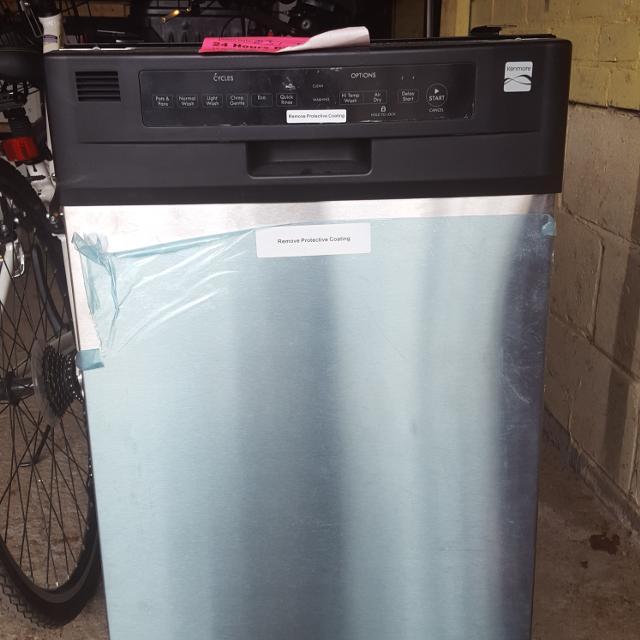 "Best ""new"" Dishwasher ""18"" Kenmore Model 587.1466 New"