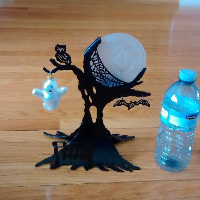 partylite halloween tealight holder ghost tree 500