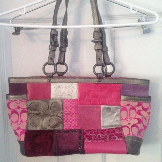 Best Coach Patchwork Handbag for sale in St John s Newfoundland a102a7dd5eb81