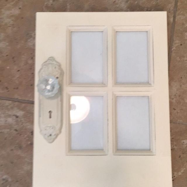Find more 13x17 Off White Wood Door Picture Frame! for sale at up to ...