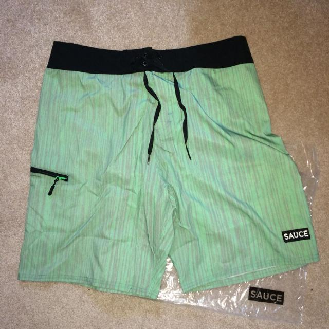 4285e02d Find more Brand New - Sauce Hockey Swim Trunks - Size 34/36 for sale ...