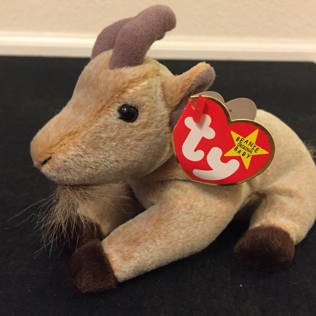 Best Mwt Beanie Baby - Goatee The Mountain Goat for sale in Champaign 91fe0f1b05c