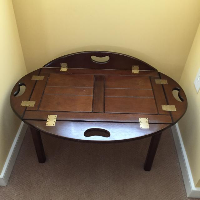 Vintage Bombay Company Butler S Coffee Table