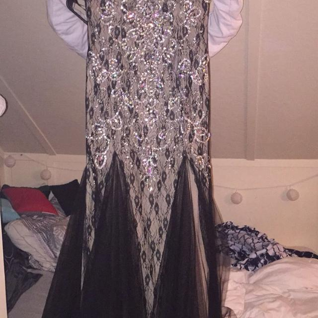Best Black & Nude Prom Dress for sale in Akron, Ohio for 2018