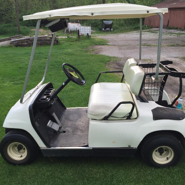 how to tell model of yamaha golf cart