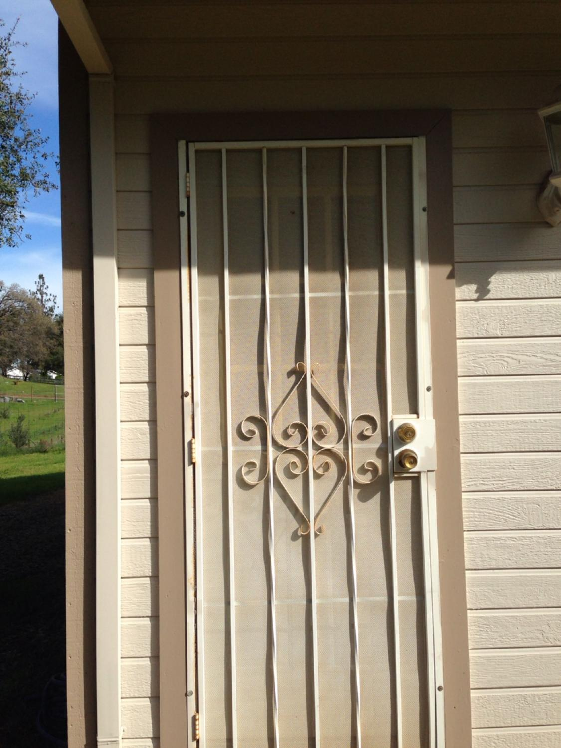 Find More Security Screen Door 30x80 And Side Exterior Door Half