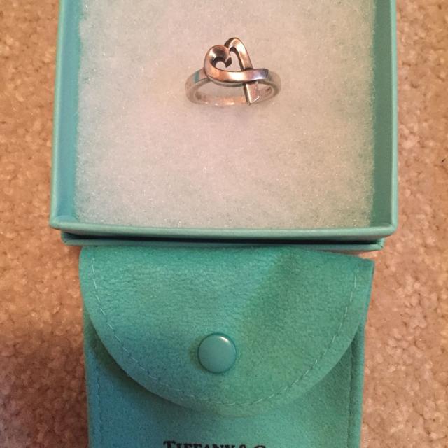 18e2edd2e Find more Authentic Tiffany & Co Single Loving Heart Ring, Paloma ...