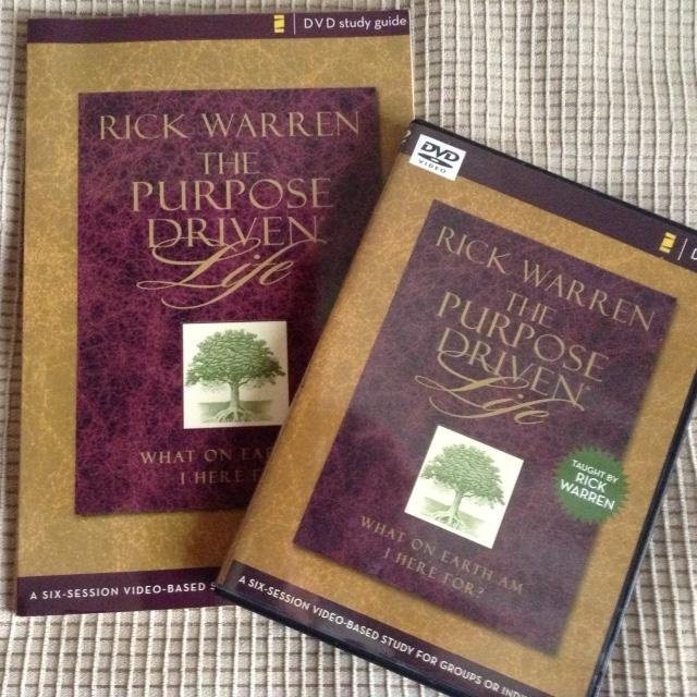 Buy purpose driven life: dvd study guide: a six-session video.