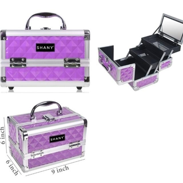 9237767b4f3 Find more Brand New In Box Shany Mini Makeup Train Case With Mirror ...