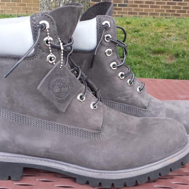 Best Grey Timberland Waterproof Boots for sale in Vineland f3b2c71a3dde