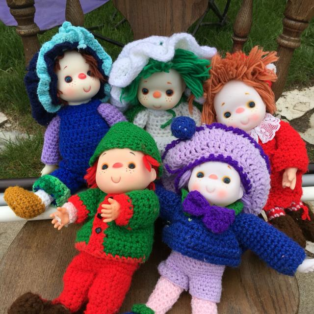 Best Strawberry Shortcake Collection Crochet Dolls For Sale In