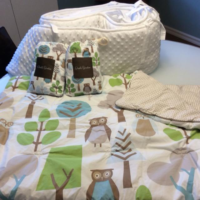 Best Dwell Studio Owls Crib Bedding And Carters Minky Per For In Sherwood Park Alberta 2019