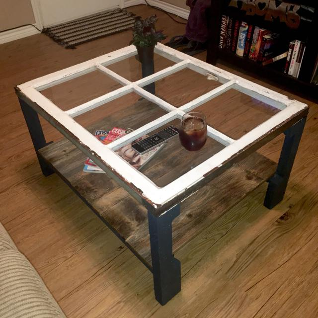 Find More Handcrafted Antique Window Reclaimed Wood Rustic Coffee - Window coffee table for sale