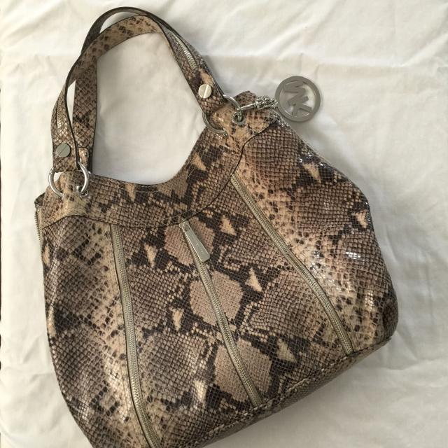 dfb52f782852 Best Authentic *rare* Michael Kors Snake Embossed Moxley Purse. Ret. $380  Usd. for sale in Brockton Village, Ontario for 2019