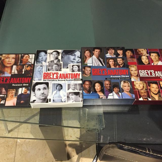 Find more Euc Grey\'s Anatomy Season 1,2,3&4 Box Set for sale at up ...