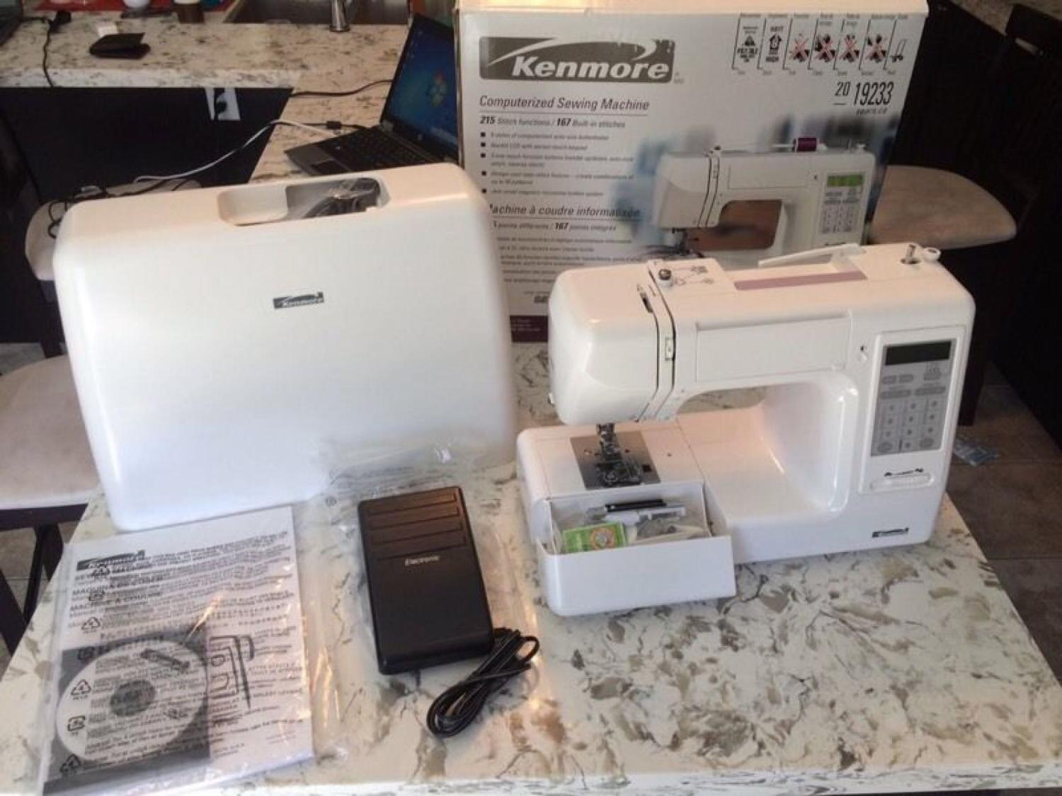 Find more Kenmore Computerized Sewing Machine (19233) - Brand New. for sale  at up to 90% off
