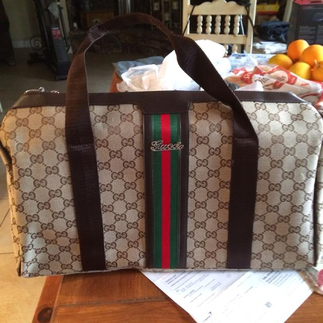 f54f119e6 Find more Replica Gucci Weekender Bag for sale at up to 90% off