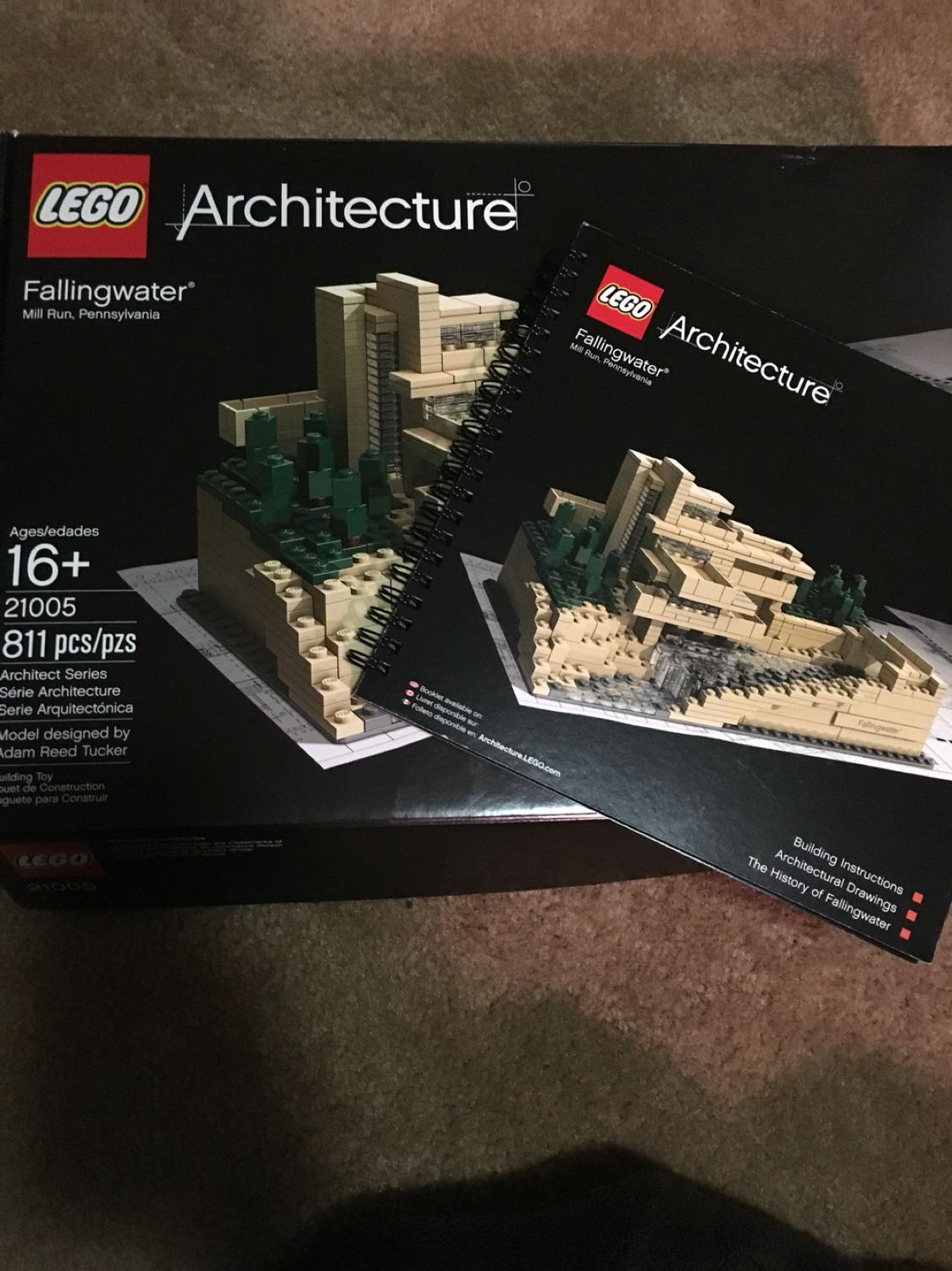 Best Lego Retired Architecture Fallingwater For Sale In Washington