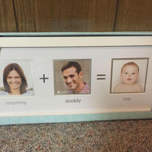 Best Ever Mommy Daddy And Me Picture Frame