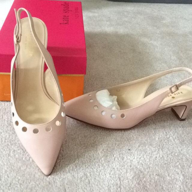 bbeb0001214d Find more Kate Spade Brand New In Box Shoes Sling Back Low Heels ...