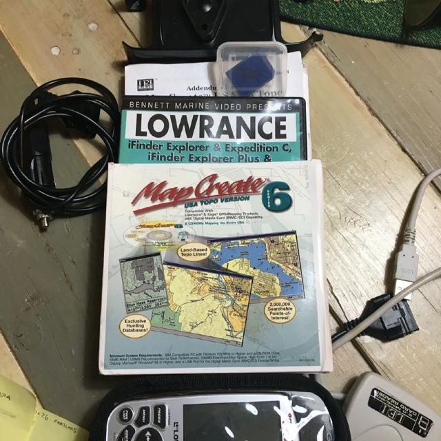 Lowrance Finder Expedition C--REDUCED
