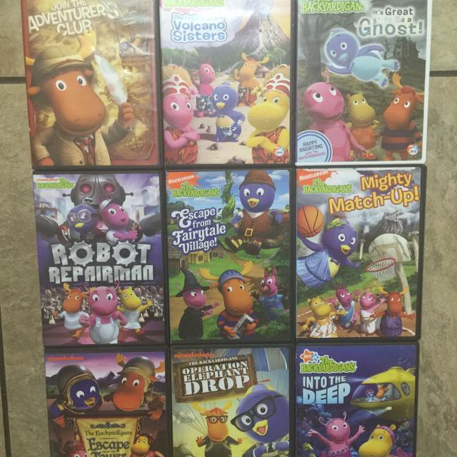 Backyardigans DVD Set Meet In Middlebrook At Dollar General