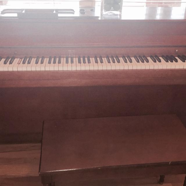 Best Upright Mendelssohn Piano With Bench For Sale In