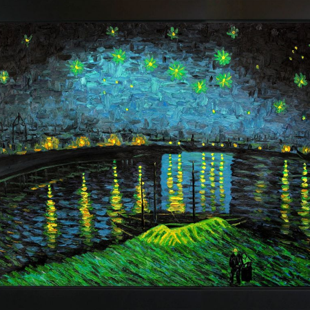 Used, Reproduction en l'huile Van Gogh... for sale  Canada