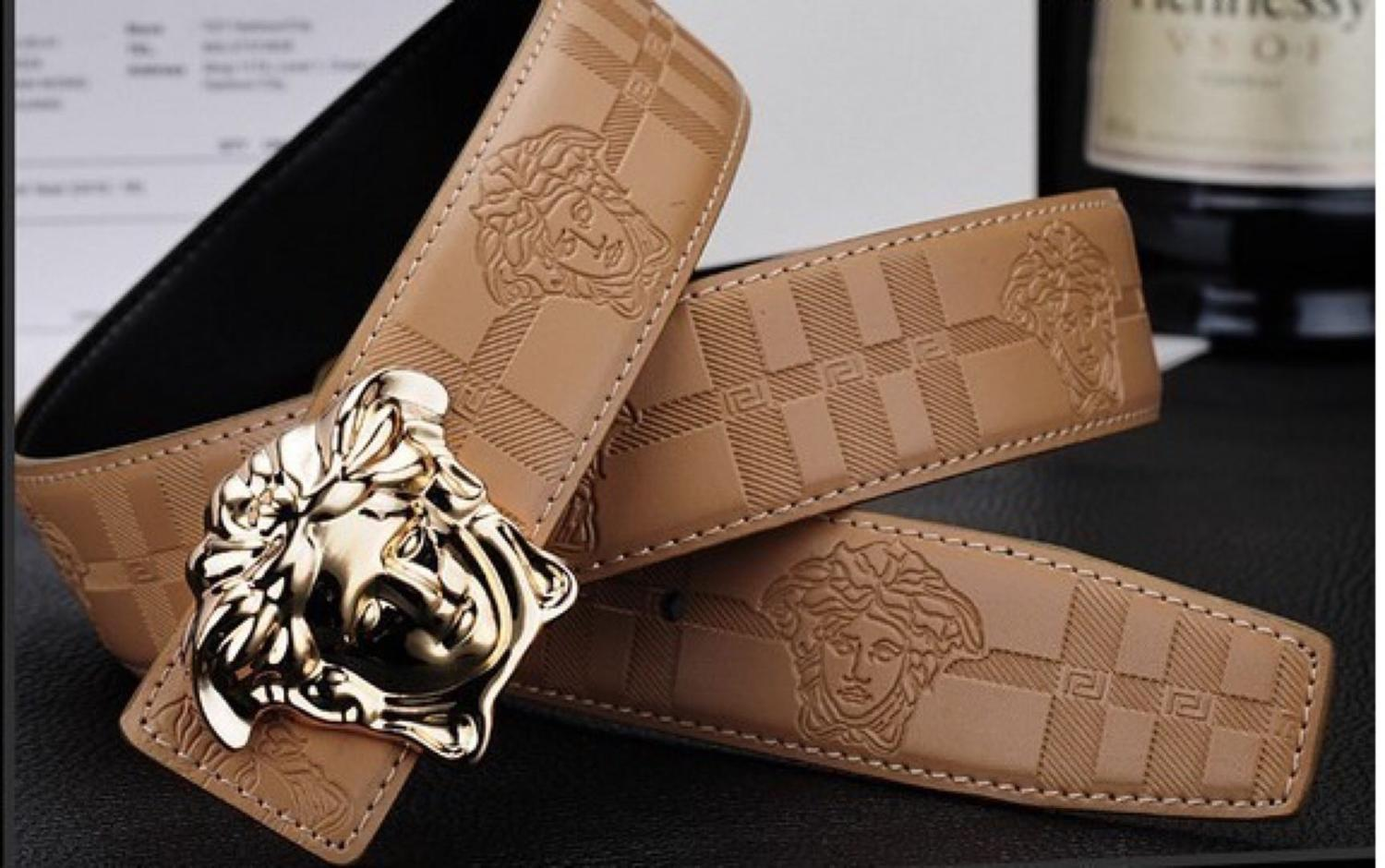 Medusa Head Versace Belt