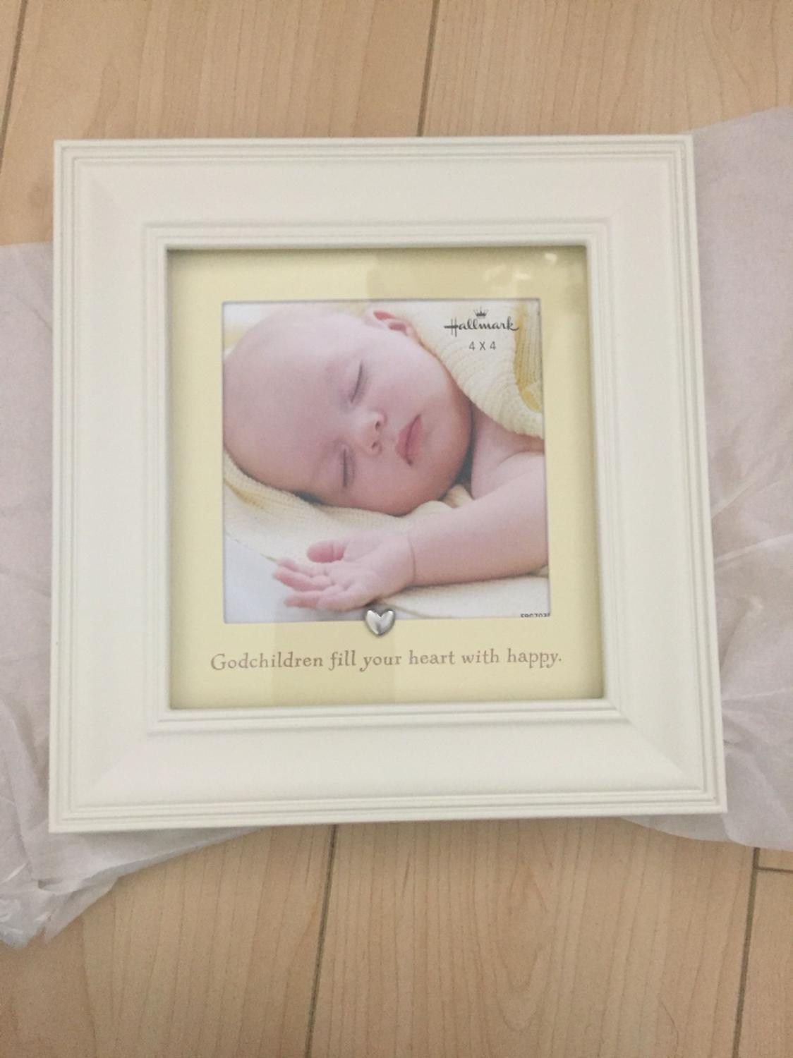 Find more Bnib Hallmark Godchild 4x4 Picture Frame for sale at up to ...