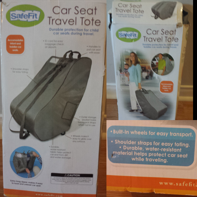 Find more Safefit Car Seat Travel Tote for sale at up to 90% off