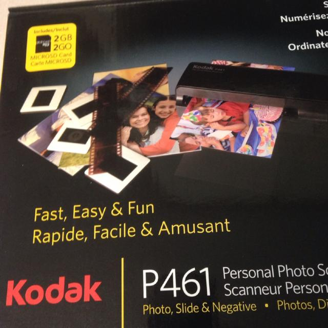 Find More Kodak P461 Personal Photo Scanner 4x6 Big Reduction Now