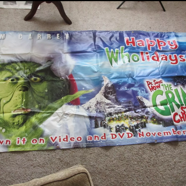 How The Grinch Stole Christmas Movie 2000.How The Grinch Stole Christmas Movie Banner