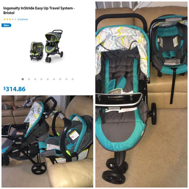 Ingenuity Car Seat Stroller Travel System Combo