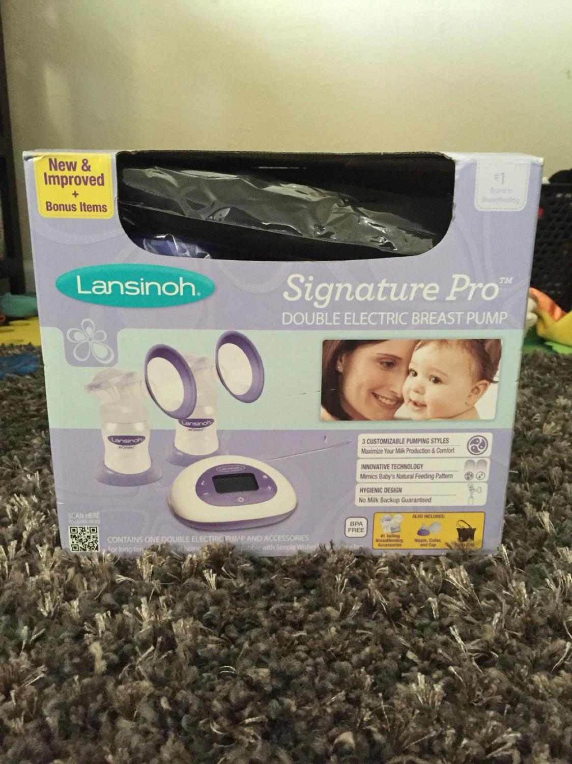 Best Lansinoh Signature Pro Double Electric Breast Pump For Sale