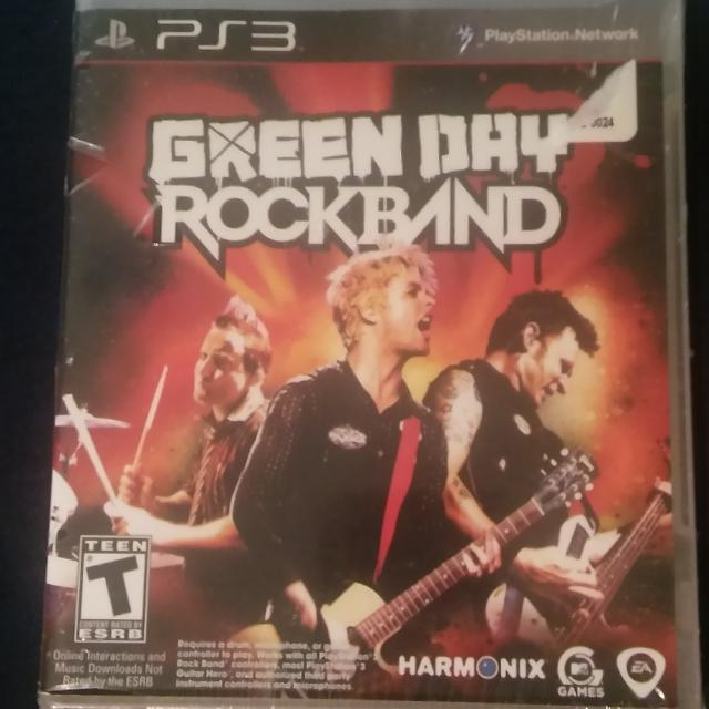 NEW Green Day Rock Band for PS3 Playstation 3