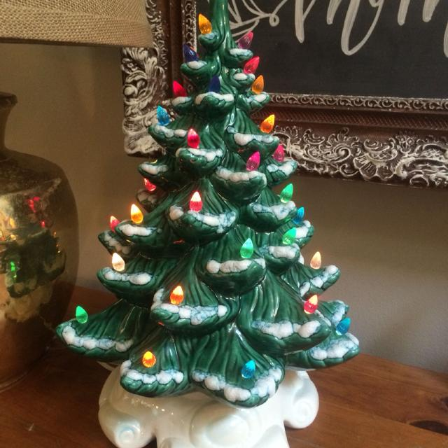 Find More True Vintage Ceramic Christmas Tree Buy Now Before The