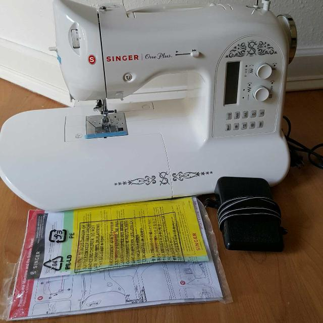 Find More Singer One Plus Sewing Machine For Sale At Up To 40% Off Delectable Singer One Plus Sewing Machine